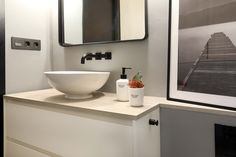 Dröm Living: Especialistas en reformas integrales e Interiorismo en Barcelona Double Vanity, Bathroom, Renovation, Architecture, Interiors, Washroom, Bath Room, Double Sink Vanity, Bath