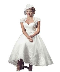 83f393cbb9 CoCoGirls Vintage Bridal Short Lace Wedding Dresses With ... https   www