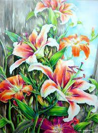 Resultado de imagen para colour pencil shading flowers