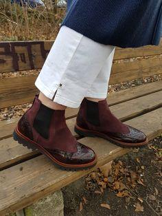 Marc O' Polo chelsea Marc O Polo bordeaux boots weinrot Stiefel Görtz