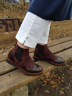 Marc O' Polo chelsea Marc O Polo bordeaux boots weinrot Stiefel Görtz