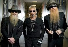 ZZ Top....these guys rocked it in concert