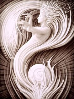 The Oracle of the Pearl by Artist-Andrew Gonzalez creates amazing transfiguration, esoteric and visionary work. All work is pinned directly from the artist website. Art Visionnaire, Ouvrages D'art, Foto Art, Visionary Art, Pics Art, Art Plastique, Surreal Art, Amazing Art, Awesome