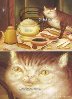 Hilarious Classical Art Memes - Food Meme - 50 Of The Funniest Classical Art Memes Ever (New Pics) The post Hilarious Classical Art Memes appeared first on Gag Dad.