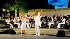Washington, DC enjoys a tradition of live military band concerts, The Army, Navy, Marine Corps, and Air Force bands perform free concerts throughout the summer.