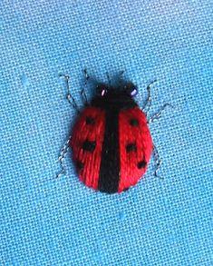 Sew in Love: Stumpwork Ladybird Tutorial