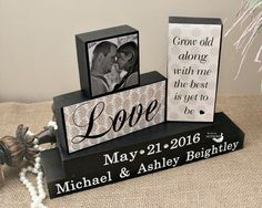 Grow Old Along With Me - Bride and Groom Gift - Wedding Wood Sign - Personalized Unique Wedding Gift - Anniversary Gift - Engagement Gift