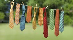 Is your husband's overflowing necktie collection driving you up the wall? Well, before you begin tossing the ties, get a load of these unbelievably creative ways to give them a second life!