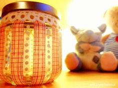 lovely decorated jar
