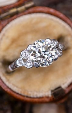 2e4e97d9d 456 Best Antique Engagement Rings images in 2019 | Antique ...