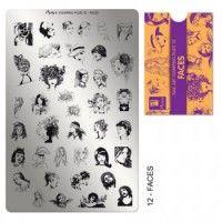 Moyra Stampingplatte Globetrotter 01