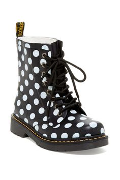 Drench Polka Dot Boot by Dr. Martens on @HauteLook