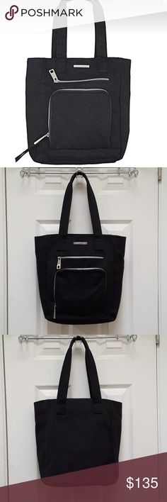 9b85799e0 Marc Jacobs Black Canvas Zippered Tote Bag Super cute canvas tote by Marc  Jacobs! Would