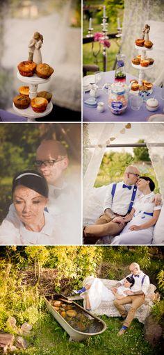 Vintage Verliebte Hochzeit von Ela Cle Photography