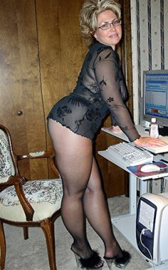 Mature older women pantyhose