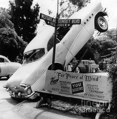 Wouldn't you rather wreck a Buick?  (Sad Hill/Bizarre Los Angeles)