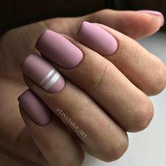 Fall Nail Designs - My Cool Nail Designs Gradient Nails, Matte Nails, Blue Nails, Marble Nail Designs, Fall Nail Designs, Spring Nail Trends, Nail Design Video, Latest Nail Art, Dipped Nails