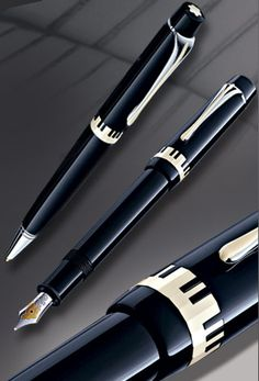 Karajan Donation fountain pen, Montblanc (Who can't love a musical Montblanc fountain pen?)