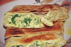 Пирог из лаваша с сыром и зеленью | Кулинарные Рецепты