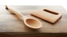 Hand-Crafted Maple Wood Baking Tools