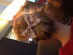 DIY hair bow..