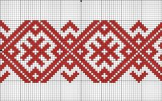 """Another good pattern. Ostensibly an """"amulet"""" pattern to bless the wearer. Russian Embroidery, Folk Embroidery, Cross Stitch Embroidery, Embroidery Patterns, Inkle Weaving, Inkle Loom, Bead Loom Patterns, Mosaic Patterns, Cross Stitch Designs"""