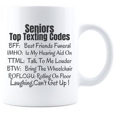 Excited to share the latest addition to my shop: Seniors Texting Code, Birthday Gift , Retirement Gift, Funny Retirement Gift