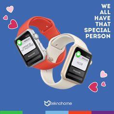 The best valentine gift!  #AppleWatch. Disponible en #TeknohomeRD by teknohomerd