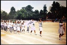 This is the picture of the sports day 2011 held in my school.