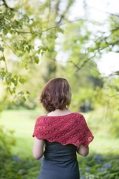 Ravelry: Wild Cherry pattern by Melissa J. Goodale