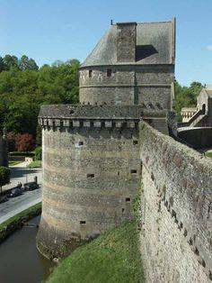 Château de Fougères. Bretagne