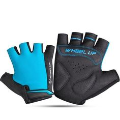 Mens Women Outdoor Mesh Breathable Short Fingerless Non-slip Bicycle Gloves Unisex Fashion, Mens Fashion, Motorcycle Gloves, Mens Gloves, Outdoor Woman, Green And Grey, Bicycle, Unisex Style, Sporty
