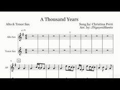 A thousand years on alto saxophone