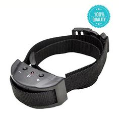 Petraha Dog No Bark Collar Electric Anti Bark Shock Control with 7 Levels Button Adjustable Sensitivity Control, Stimulation of No Harm Warning Beep and Vibration, for 15-120 Pounds Dogs >>> See this awesome image  : Dog Training and Behavior Aids