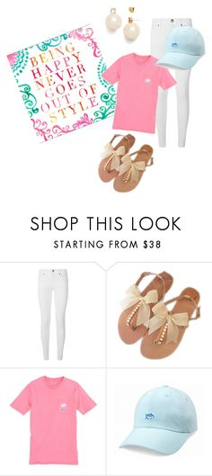 """Rollin' on the River"" by southernpearlgir ❤ liked on Polyvore featuring Burberry, Southern Tide and Tory Burch"