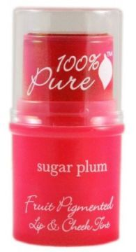 100-Percent-Pure-Cosmetics-Cheek-Lip-Tint How cool is this a cheek color and lip color in one and look great and feels great