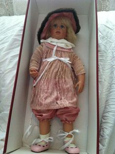 Top Zustand Factories And Mines Dolls Dolls & Bears Götz Hildegard Günzel Puppe Vinyl Puppe 55 Cm