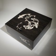 stunning Koi Noir by Zelouf and Bell http://architectstables.com/archives/4169