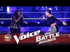 "The Voice 2014 Battle Round - Toia Jones vs. DaNica Shirey: ""Halo"""