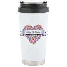CafePress - Stainless Steel Travel Mug - Stainless Steel Travel Mug, Insulated 16 oz. Coffee Tumbler -- Read more  at the image link.