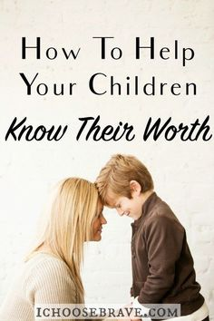 The world will tell our kids who they are in a hurry. But are we working just as hard to help our kids understand their worth, to help develop who they are truly created to be? Here is a simple way to get started.