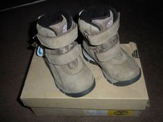 Toddler's Gore-Tex OrthoLite Waterproof Snow Boots by Timberland Leather UK 4