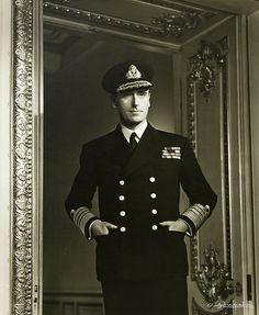 Louis Mountbatten 1943 by Yousuf Karsh