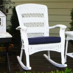 Outdoor Wicker Rocking Chairs - WickerCentral.com