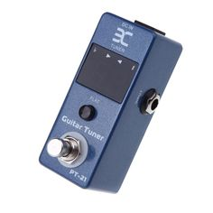 ENO Guitar Tuner Pedal True Bypass Blue Universal Compact Professional