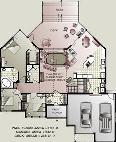 Bungalow House Plans | ... Home Concepts: energy efficient accessible country bungalow house plan