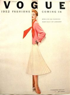 Vogue January 1952