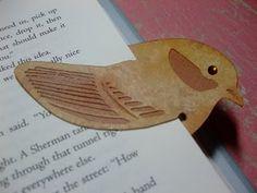 cool bird bookmark