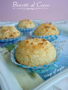 Coconut biscuits, Italian recipe - wings of sugar blog Biscotti al cocco - wings of sugar blog