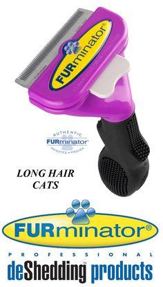 Grooming 177786: Furminator Deshedding Tool Cat Long Hair Coat Undercoat Stripper De-Shed Rake -> BUY IT NOW ONLY: $35.99 on eBay!